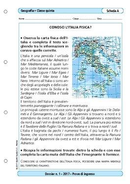 Cartina Muta Italia Per Verifica.Conosci L 39 Italia Fisica Conosci L 39 Italia Fisica Giunti Scuola