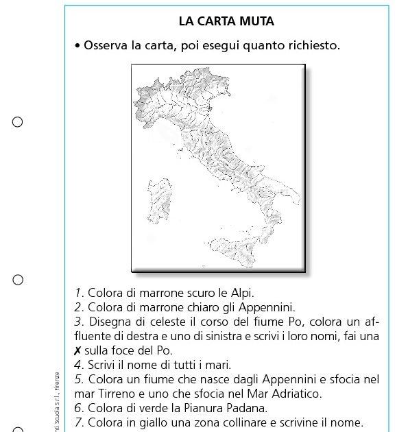 Cartina Muta Italia Per Verifica.La Carta Muta La Carta Muta Giunti Scuola
