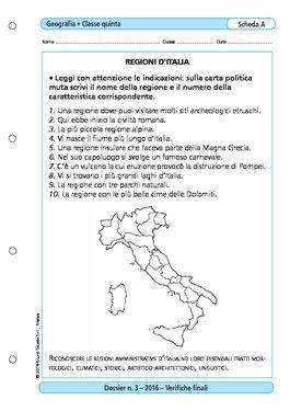 Cartina Muta Italia Per Verifica.Regioni D 39 Italia Regioni D 39 Italia Giunti Scuola